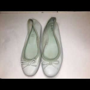 Eram french flats teal leather like new size 7.5